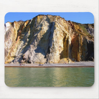 Coloured sands of Alum Bay Mouse Pad