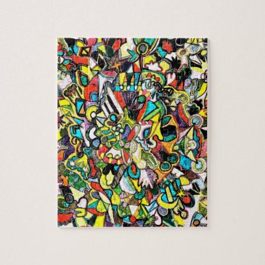 Coloured Shapes Puzzle