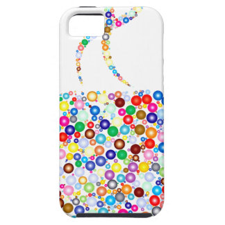 Coloured Steaming Cup iPhone 5 Cases