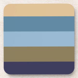 Coloured Stripes Coasters