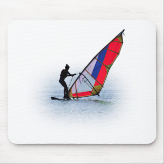 coloured wind surfing ASTRE Mouse Pad
