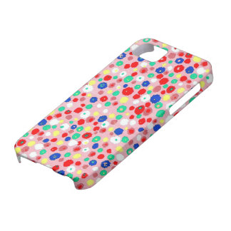 Colourf daisies Phone SE+iPhone 5/5S, Barely There Case For The iPhone 5