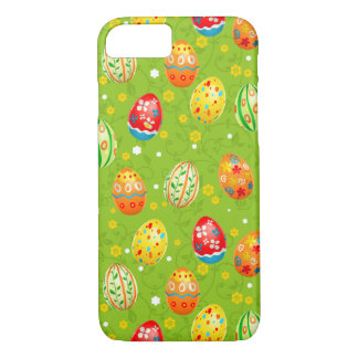Colourfol floral decorated eggs iPhone 8/7 case