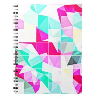 Colourful Abstract Art Notebook