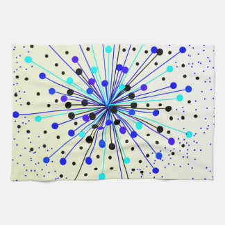 Colourful Abstract Background Towel