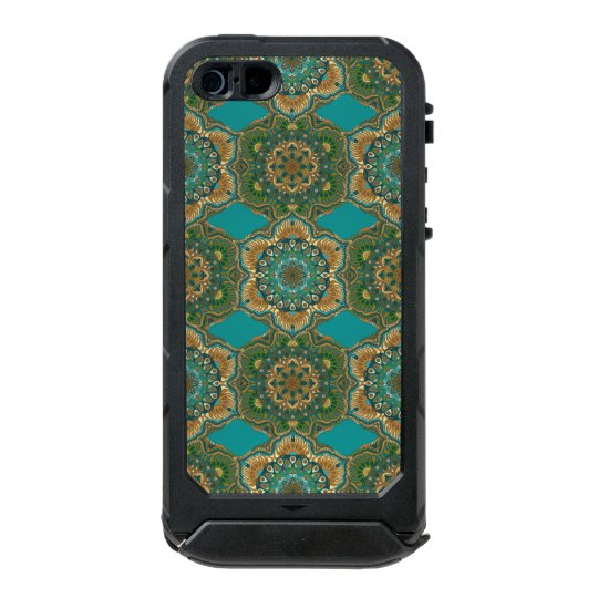 Colourful abstract ethnic floral mandala pattern incipio ATLAS ID™ iPhone 5 case
