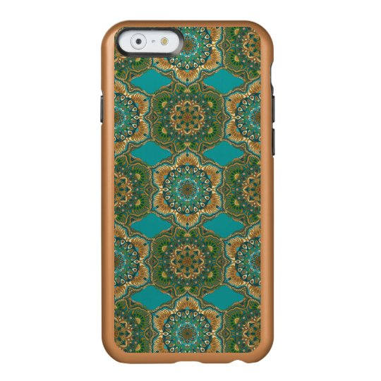 Colourful abstract ethnic floral mandala pattern incipio feather® shine iPhone 6 case