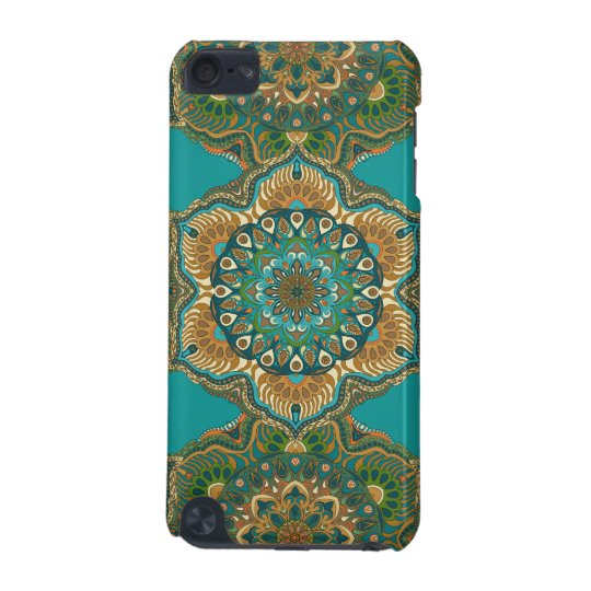 Colourful abstract ethnic floral mandala pattern iPod touch 5G cover