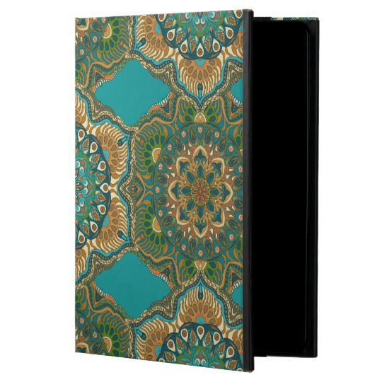 Colourful abstract ethnic floral mandala pattern powis iPad air 2 case