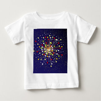 Colourful Abstract Explosion Baby T-Shirt