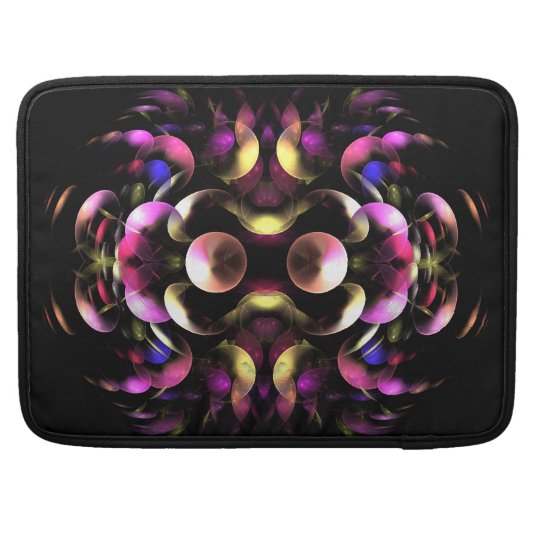 Colourful abstract Fractal Art Sleeve For MacBook Pro