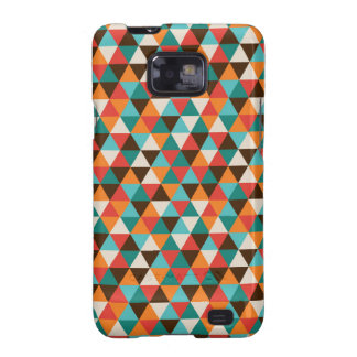 Colourful Abstract Geometric Triangles Samsung Galaxy SII Cover
