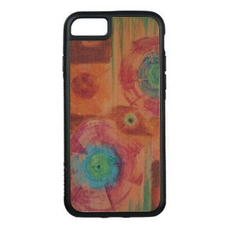 Colourful abstract iPhone case