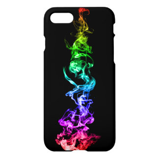 Colourful Abstract Smoke - A Rainbow in the Dark iPhone 7 Case