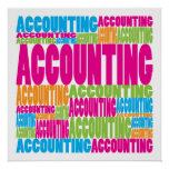 Colourful Accounting Posters