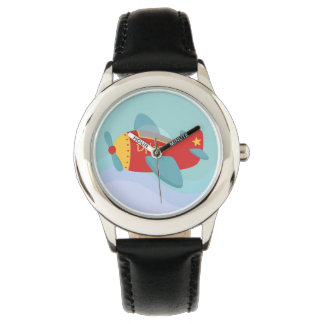 Colourful & Adorable Cartoon Aeroplane for kids Watch