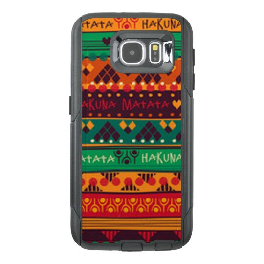 Colourful African No Worries Typography OtterBox Samsung Galaxy S6 Case