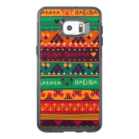 Colourful African No Worries Typography OtterBox Samsung Galaxy S6 Edge Plus Case