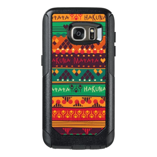Colourful African No Worries Typography OtterBox Samsung Galaxy S7 Case