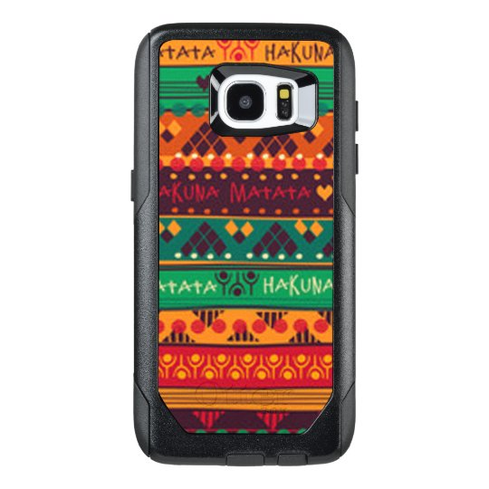 Colourful African No Worries Typography OtterBox Samsung Galaxy S7 Edge Case
