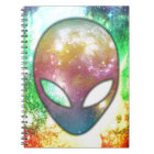 Colourful Alien Notebook