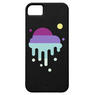 Colourful and abstract ice-cream I-phone case