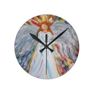Colourful Angel Wallclock