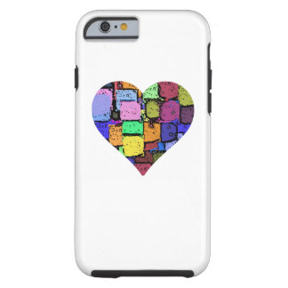colourful animated heart iPhone 6 Tough iPhone 6 Case