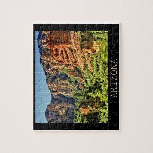 Colourful Arizona Landscape Puzzle