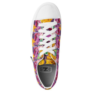Colourful art  mixed colours Low Tops