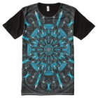 Colourful Astral Indie Art Mandala All-Over-Print T-Shirt