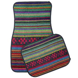 Colourful Aztec Pattern Car Mat