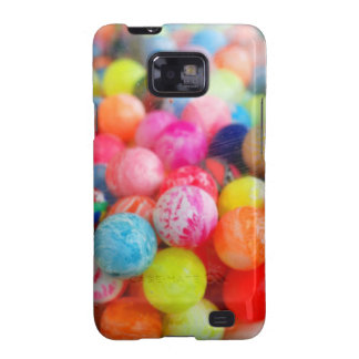 colourful balls samsung galaxy SII cover