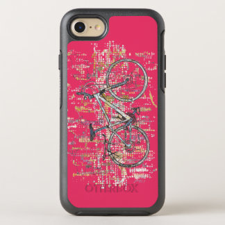 Colourful bike drawing OtterBox symmetry iPhone 8/7 case