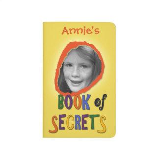 Colourful Book of Secrets Custom Photo and Name