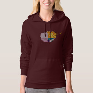 Colourful Brain Hoodie