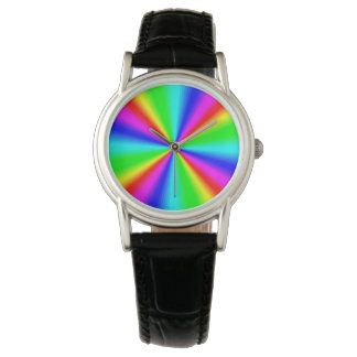 Colourful Bright Rainbow Watch