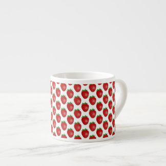 Colourful Bright Red Strawberries Espresso Mug