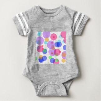 Colourful bubbles baby bodysuit