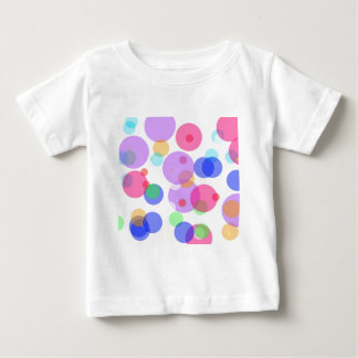 Colourful bubbles baby T-Shirt