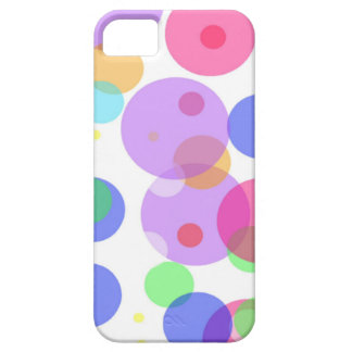 Colourful bubbles case for the iPhone 5