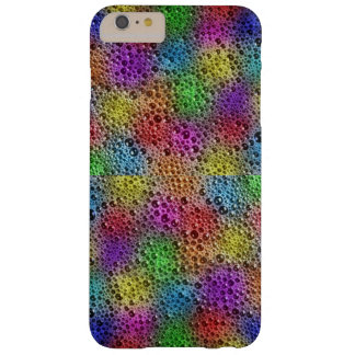 Colourful bubbles in stone iPhone / iPad case