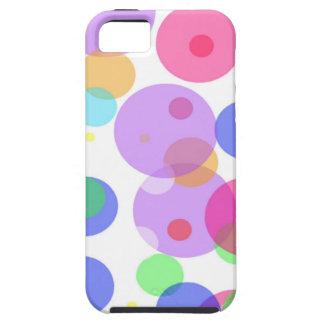 Colourful bubbles iPhone 5 cases