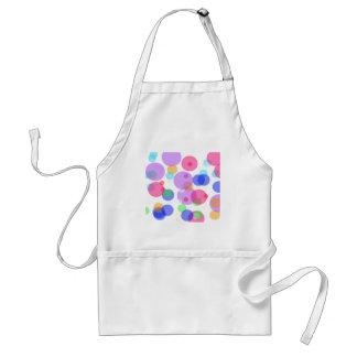 Colourful bubbles standard apron
