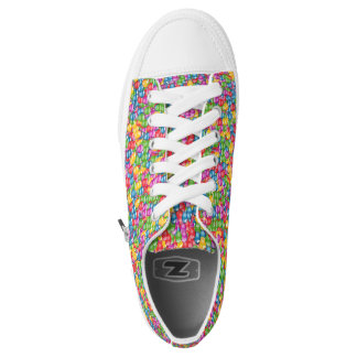Colourful bubles Low Top shoes