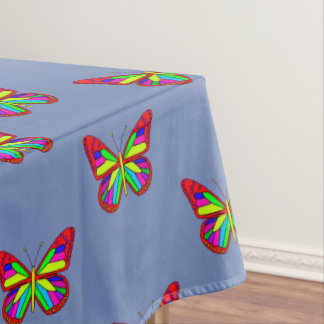 Colourful butterflies tablecloth