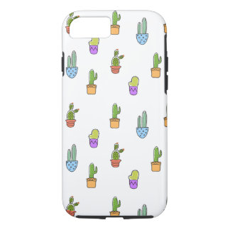 Colourful Cacti iPhone 7 Case