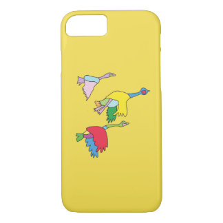 Colourful Canada Geese Phone Case