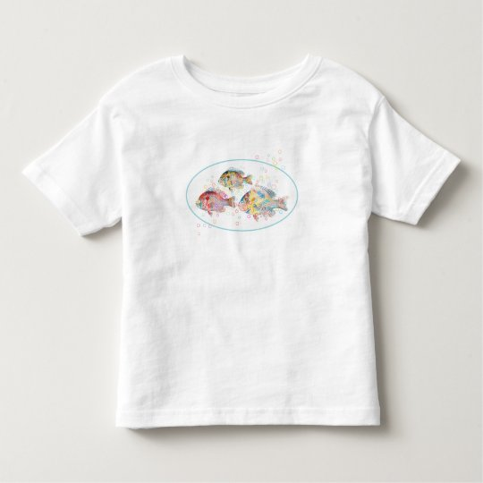 Colourful Carps Toddler T-shirt