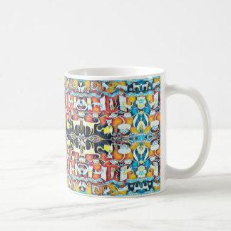 Colourful Cats Kaleidoscope Coffee Mug